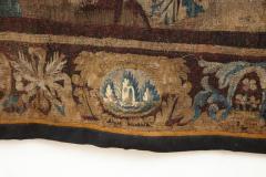 Antique Aubusson Verdure Landscape Tapestry - 1325946