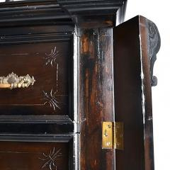 Antique Austrian Six Drawer Seminier Chest with Side Lock - 167751