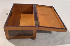 Antique Box Walnut Walnut Roots Ebony and Maple Germany circa 1880 - 1612342