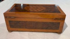 Antique Box Walnut Walnut Roots Ebony and Maple Germany circa 1880 - 1612343