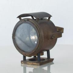 Antique Brass Bike Motorcycle Light Lamp Lantern circa 1940s - 1446922