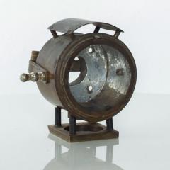 Antique Brass Bike Motorcycle Light Lamp Lantern circa 1940s - 1446926