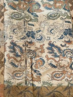 Antique Brocade Kesa Monks Patched Robe Edo Period - 1896904