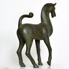 Antique Bronze Sculpture Horse Fine Antique by Toto - 1166601