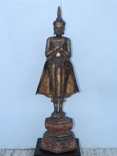 Antique Buddha Standing Sculpture - 1231928