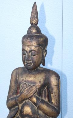 Antique Buddha Standing Sculpture - 1231931