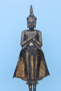Antique Buddha Standing Sculpture - 1231933