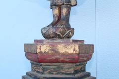 Antique Buddha Standing Sculpture - 1231951
