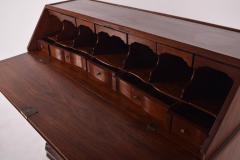 Antique Bureau Writing Desk D Maria Style Vinh tico Wood - 1838941