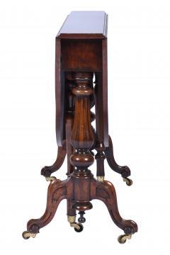 Antique Burr Walnut Sutherland Table England 1870 s - 1873726
