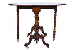 Antique Burr Walnut Sutherland Table England 1870 s - 1873727