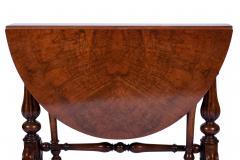 Antique Burr Walnut Sutherland Table England 1870 s - 1873729