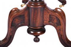 Antique Burr Walnut Sutherland Table England 1870 s - 1873733