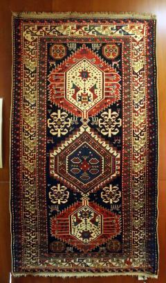 Antique Caucasian Shirvan Carpet - 852214