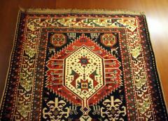 Antique Caucasian Shirvan Carpet - 852216