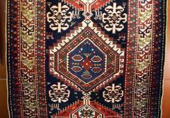 Antique Caucasian Shirvan Carpet - 852217