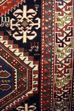 Antique Caucasian Shirvan Carpet - 852220