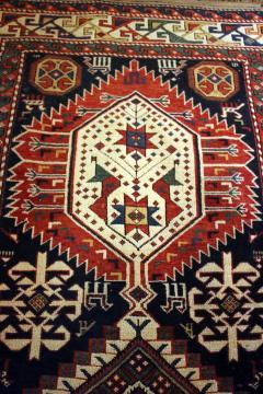 Antique Caucasian Shirvan Carpet - 852222
