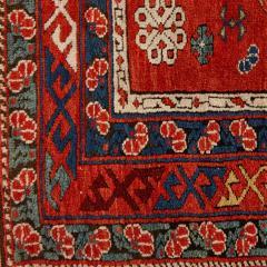 Antique Caucasian hand woven wool rug - 1433224