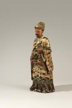 Antique Chinese 18th Century Terracotta Nodding Figure - 1301893