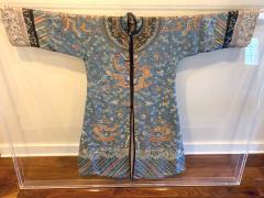 Antique Chinese Imperial Dragon Robe Qing Dynasty - 1067324