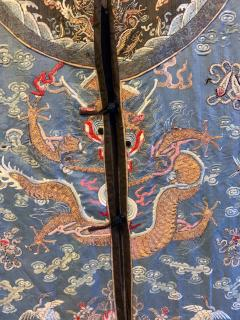 Antique Chinese Imperial Dragon Robe Qing Dynasty - 1067328