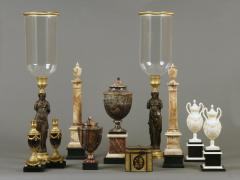 Antique Collection of 18th and 19th Century Marble and Bronze Objects - 1301897