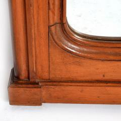 Antique Country French Cherry Wood Mirror France 19th Century - 150438