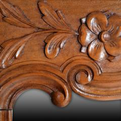 Antique Country French Cherry Wood Mirror France 19th Century - 150441