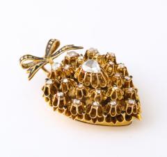 Antique Diamond Heart Locket - 2098022