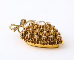 Antique Diamond Heart Locket - 2098024