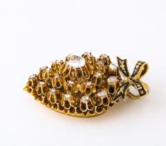 Antique Diamond Heart Locket - 2098025