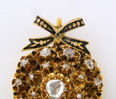 Antique Diamond Heart Locket - 2098027