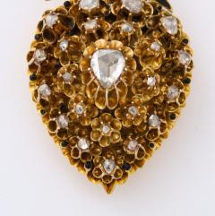 Antique Diamond Heart Locket - 2098029