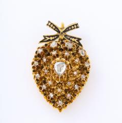 Antique Diamond Heart Locket - 2098030