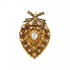 Antique Diamond Heart Locket - 2098861
