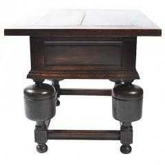 Antique Dutch Chestnut Tavern Table 19th Century - 164265