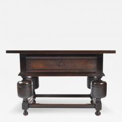 Antique Dutch Chestnut Tavern Table 19th Century - 166074