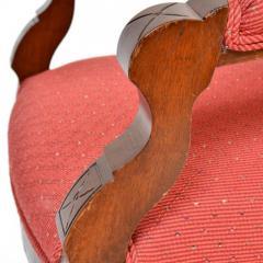 Antique Eastlake Walnut Armchair Victorian Period - 160982
