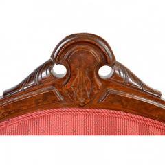Antique Eastlake Walnut Armchair Victorian Period - 160983