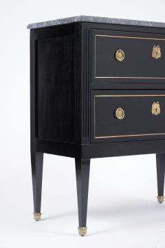 Antique Ebonized Louis XVI Chest - 1370767