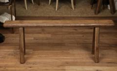 Antique Elm Bench - 1280659