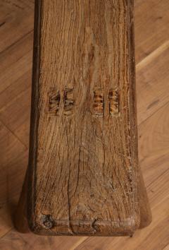 Antique Elm Bench - 1280661