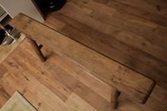 Antique Elm Bench - 1280663