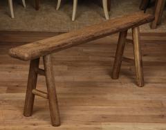 Antique Elm Bench - 1280666