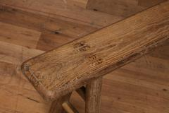 Antique Elm Bench - 1280670