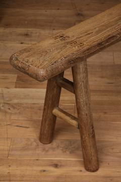 Antique Elm Bench - 1280671