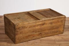Antique Elm Storage Box - 1459712