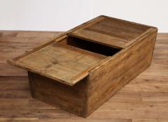 Antique Elm Storage Box - 1459713