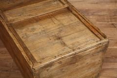 Antique Elm Storage Box - 1459714